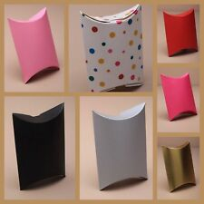 3 X SMALL CARD PILLOW PACK GIFT PRESENTATION OR WEDDING FAVOUR BOXES NEW