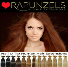 """20"""" & 24"""" PRE BONDED REMY HUMAN HAIR EXTENSIONS, U/NAIL TIP - 15 COLOURS"""