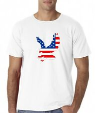 Mens United States USA American Flag Eagle T-Shirt Tee