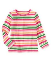 GYMBOREE CHEERY ALL THE WAY MULTI COLOR STRIPE TEE 3 5 6 7 8 9 10 12 NWT