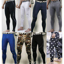 New Mens COMPRESSION Base Layer Pants tight under skin sports gear Collection