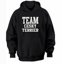 Team Cesky Terrier Hoodie warm cozy top - dog and puppy pet owners - gift