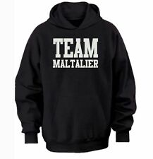 TEAM MALTALIER HOODIE  warm cozy top - dog and puppy pet owners
