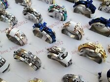 Wholesale Bulk Cross Christian Men's Fashion Jewelry Stainless Steel Rings FREE