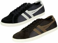 Mens Gola Trainer The Original 'Outcast' Style Shoe Navy Or Brown