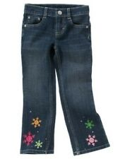 GYMBOREE CHEERY ALL THE WAY DENIM SNOWFLAKE HEM JEANS 3 4 5 6 7 8 9 10 12