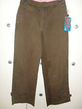 Ringspun Womens Segal Pant Brown Size 8,12 RRP£60 New With Tags