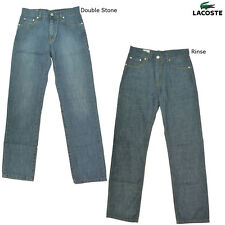 Brand New Boys Lacoste Straight Leg Denim Jeans