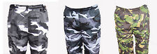 NEW CAMO CARGO CASUAL WEAR TOUGH SHORTS MULTIPLE POCKETS ALL SIZES ZIPPED AWESOM