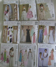 Misses' Wedding Bridal Dress Gown Pattern~Bridesmaid~Evening~Formal~Flower Girl