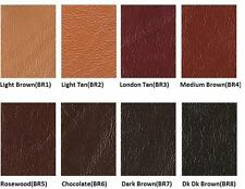 BROWN Leather Colour Coat Re-Colouring / Dye Stain Pigment Paint --