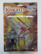 Knights And Warriors Battle Warrior Medieval With Shield Weapons Swords Axe