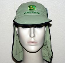 JOHN DEERE Dorfman Pacific Green Nylon FISHING CAP HAT Camping Outdoor S/M L/XL