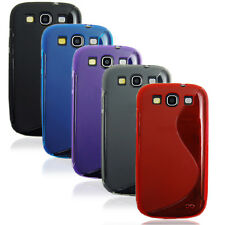 1/5 Colors TPU Gel Silicone Skin Cover Case For Samsung Galaxy S3 SIII i9300