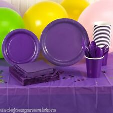 Paper Plates Napkins Cups Cutlery Party Ware BBQ Weddings Get Togethers & More +