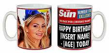 The Sun Newspaper Fun Coffee & Tea Mugs Personalised With Your Details