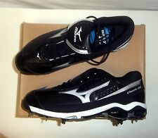 Mizuno 9-Spike Classic G6 Low Switch Baseball Cleats NIB Black Various Sizes
