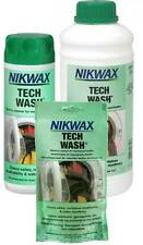 Nikwax Tech Wash Non-Detergent Cleaner For Waterproofs Various Sizes BNIB