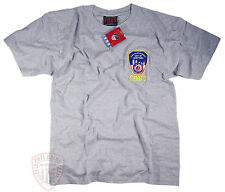 FDNY T-Shirt Gray Officially Licensed by The New York City Fire Department