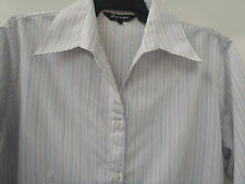 Lady Business / Office Stripe Shirt 3/4 Sleeves