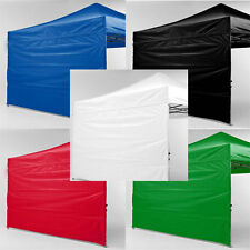New Impact EZ Pop Up Canopy Sidewalls 10 x 10 Tent 10x10 Canopies Walls Zipper