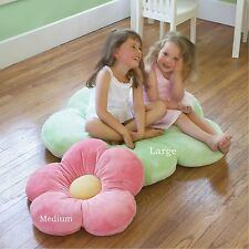 Flower Pillows for Kids Girls Room & Baby Nursery, Decorative Plush Throw Pillow