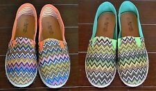 CANVAS SHOES,CHEVRON PRINT, VERY ATTRACTIVE AND COMFORTABLE.