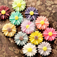 Hot Resin Vintage Flatback Sun Flowers Cabochon Findings Wholesale Lots RB0742