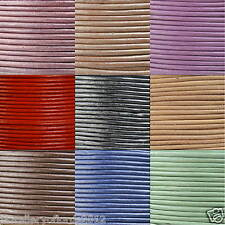 1.5mm High Quality Round Cord Real Leather String Lace Thong Jewellery Making
