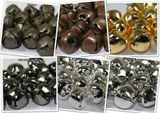 Jingle Bells 6mm, 10mm & 25mm Bronze, Gold, Silver, Black, Patina, Red