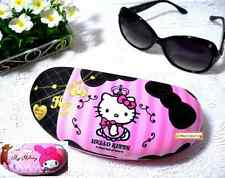 Licensed Sanrio Sunglasses Glasses Eyeglass Hard Case Box Holder+Cleaning Cloth‏