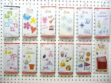 Sizzix Sizzlits 4 Die Packs Christmas Frames Halloween Phrases Tags Valentine