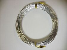 6m x 1.5mm Aluminium Wire - choose your colour!! Floristry, Craft, Beading Wire