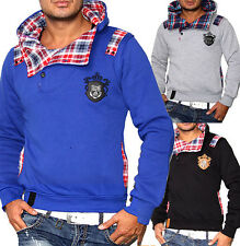 2013 NEU COLLECTION HERREN WINTER KAPUZEN SCHALLKRAGEN SWEATPULLOVER HOODIES