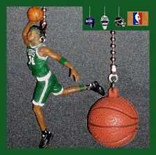 NBA BOSTON CELTICS PIERCE FIGURE & CHOICE OF LOGO OR NBA BASKETBALL FAN PULLS