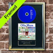OLLY MURS FRAMED In case you didnt know AUTOGRAPH CD Repro Print A4 (37)