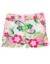 GYMBOREE FLORAL MERMAID FLORAL PRINT WOVEN SHORTS 3 4 5 6 7 8 NWT