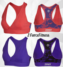 Zumba Fitness Sexy PRETTY IN PRINT V-BRA Halter Top NEW 2 Clrs  Zumbawear