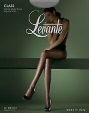 LEVANTE CLASS 12 DENIER SHEER TIGHTS VARIOUS SIZES AND COLOUR