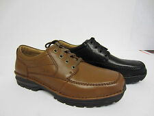 Clarks Mens Sidmouth Key Black or Brown Leather H Fit Sizes UK8x10