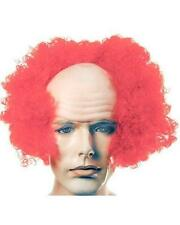 Bargain Version Bald Curly Clown Lacey Costume Wig