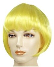 Discount Lulu 1920s Flapper Short Bob Lacey Costume Wig