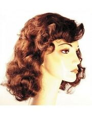 1940s Vamp Betty Davis Movie Star Lacey Costume Wig All About Eve