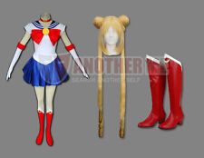 Another Me Sailor Moon Anime Cosplay Costume+Wig+Boots Outfit Set