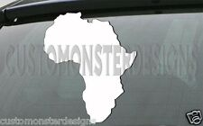 AFRICA vinyl sticker AFRICAN CONTINENT decal all size & colors FAST Shipping