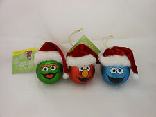 Sesame Street Character Ornaments (Elmo, Oscar The Grouch or Cookie Monster)