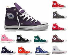 Girls Boys Converse CT All Star HI Canvas Trainers Twelve 12 Colours Youths 11-2