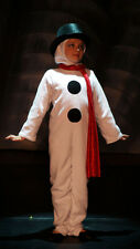 CHRISTMAS/WINTER/SNOWMAN Complete All in One Fancy Dress Costume ALL AGES