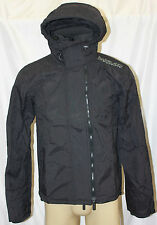 NWT SUPERDRY MEN'S TECHNICAL WINDCHEATER JACKET COLOR:BLACK/GREY