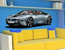 WALL STICKERS BMW i8 Concept CARS Sport Racing  Sticker Children Nursey Decal